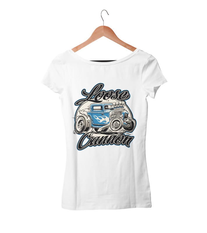 LOOSE CANNON T-SHIRT WOMAN by Ger
