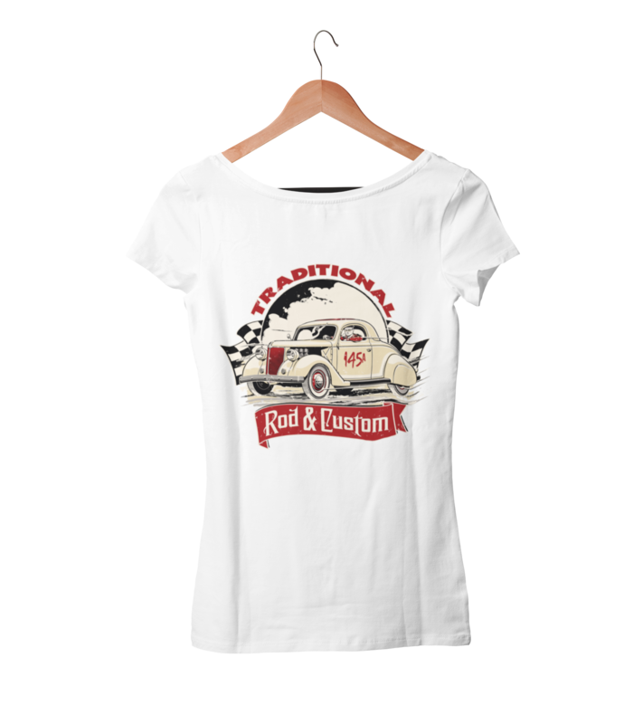TRADITIONAL ROD & CUSTOM T-SHIRT WOMAN by Ger