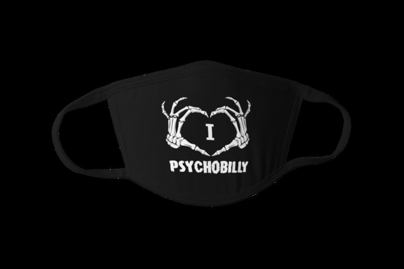 I love Psychobilly Mask