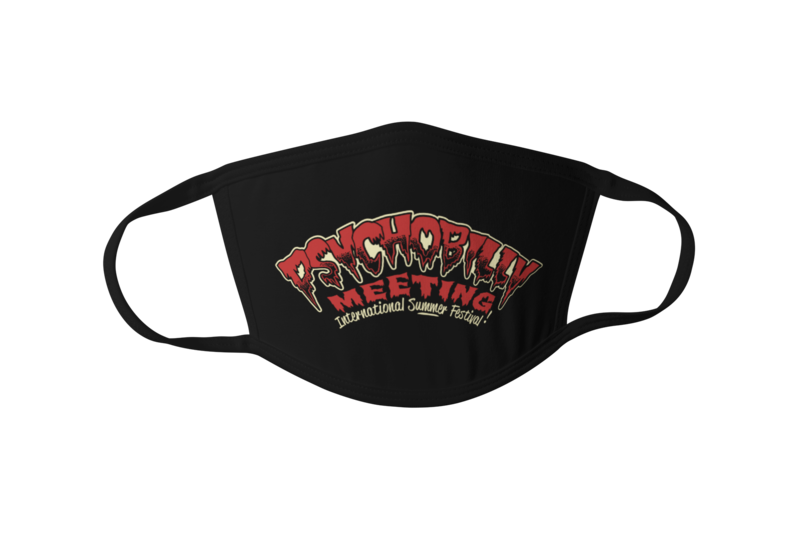 Psychobilly Meeting logo Mask