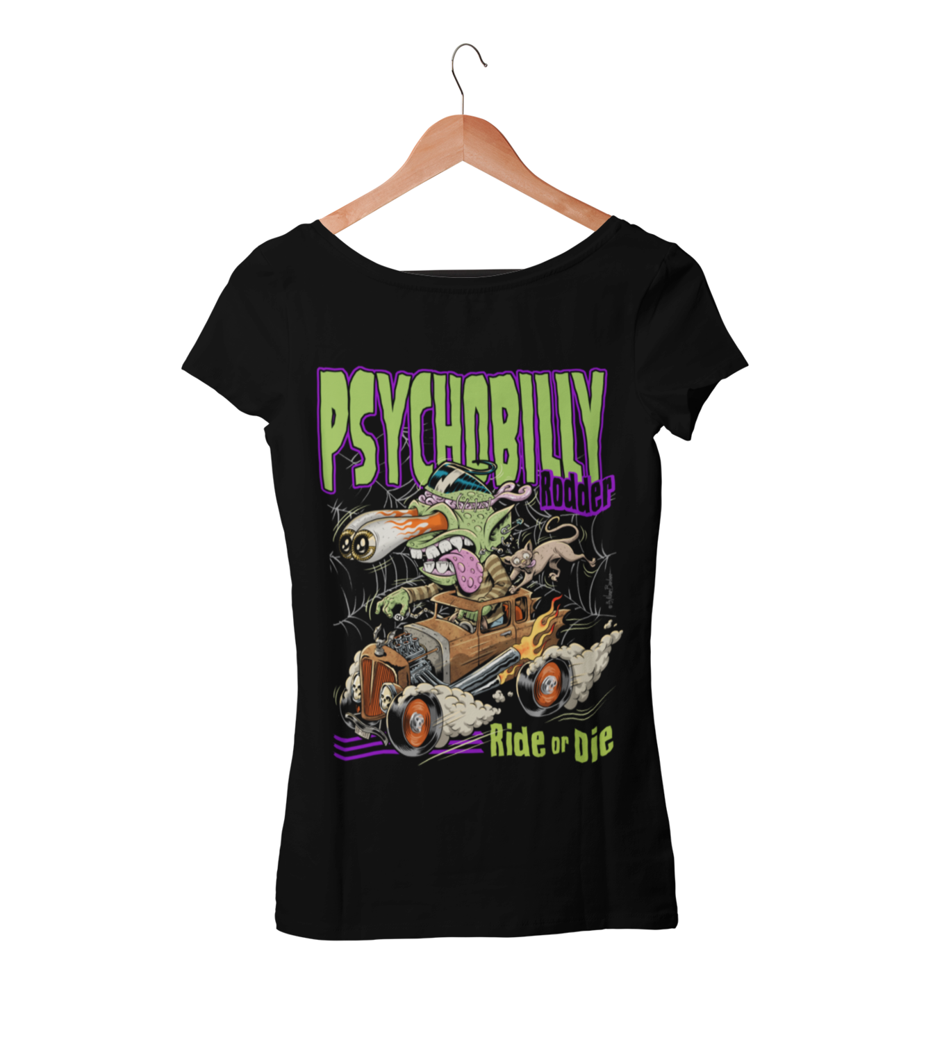 PSYCHO CLAWS T-SHIRT WOMAN by NANO BARBERO
