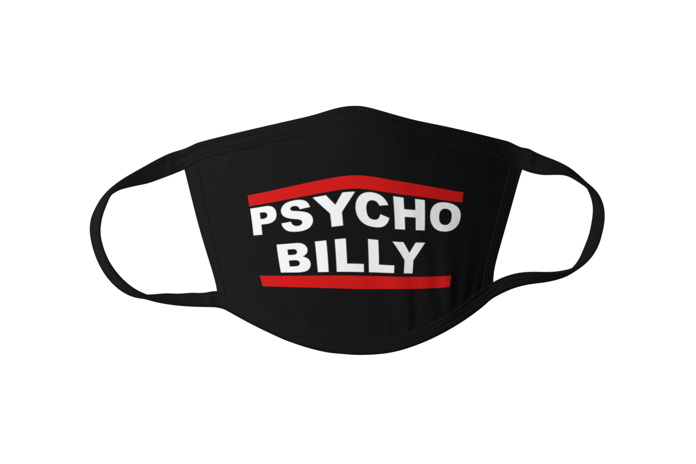 Psychobilly DMC logo Mask