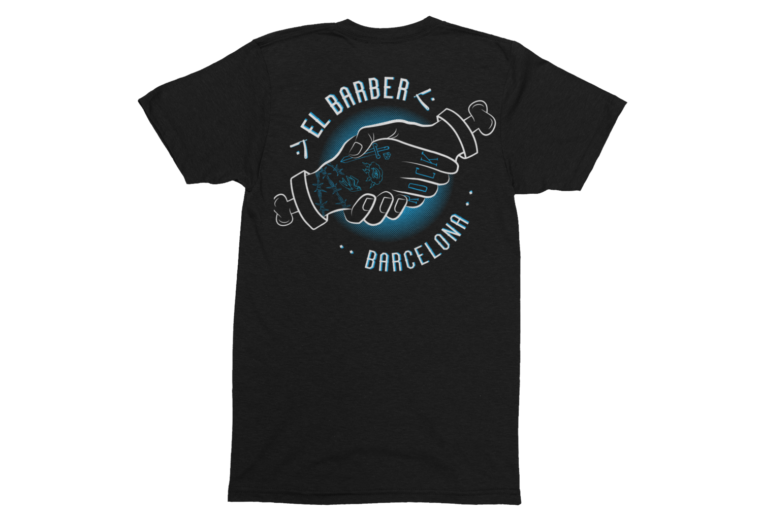 EL BARBER tshirt for MEN