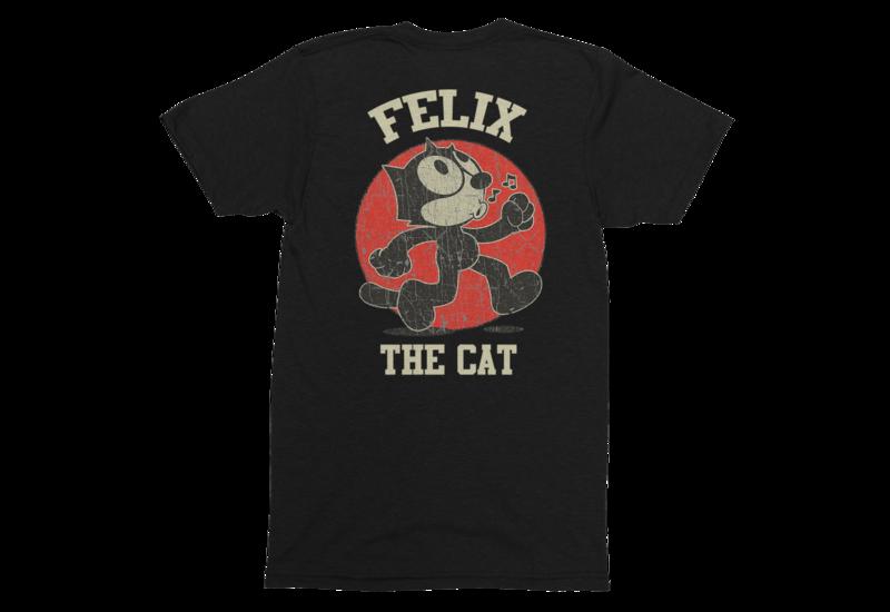 FELIX THE CAT T-SHIRT MAN