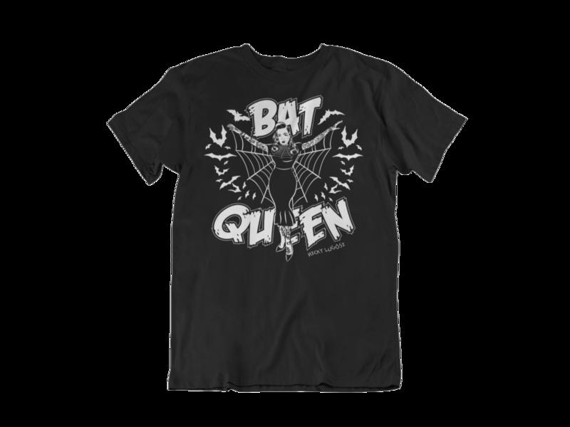 BAT QUEEN by MISS MOONAGE tshirt for MEN
