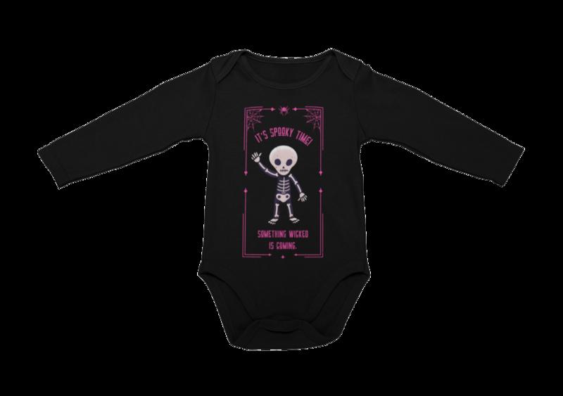 IT´S SPOOKY TIME BABY ONIESE