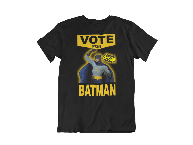VOTE FOR BATMAN T-shirt man