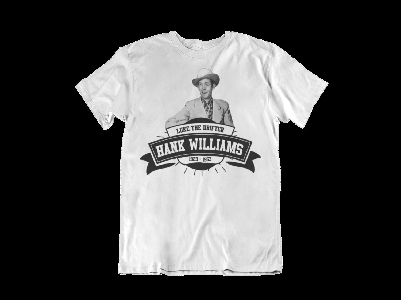 HANK WILLIAMS T-SHIRT FOR MEN