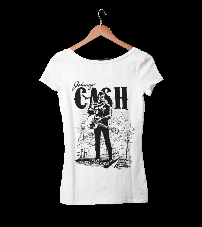 JOHNNY CASH T-SHIRT WOMAN