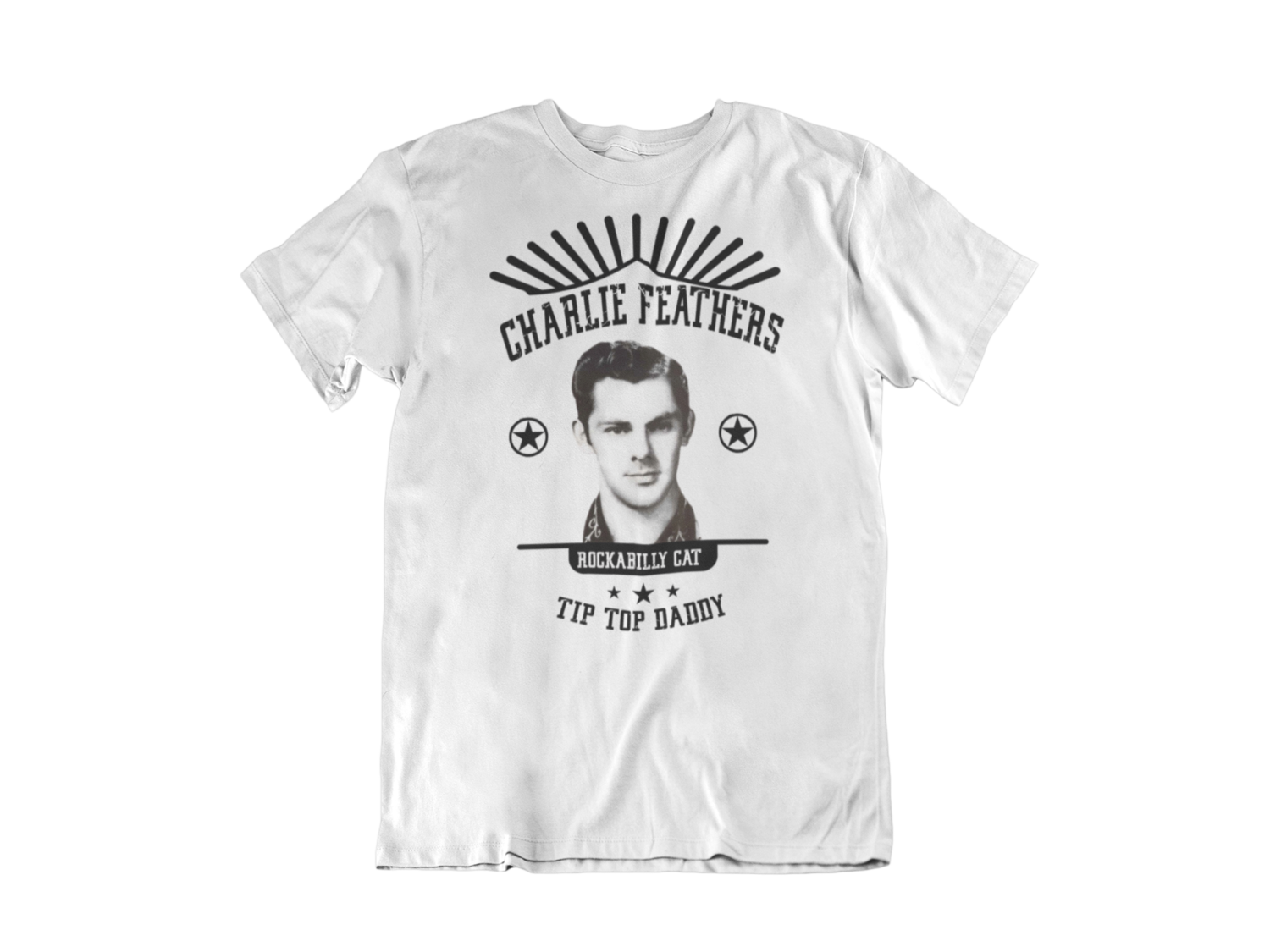 CHARLIE FEATHERS T-SHIRT FOR MEN