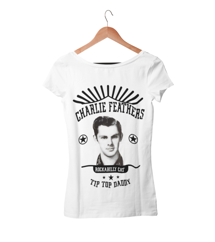 CHARLIE FEATHERS T-SHIRT WOMAN