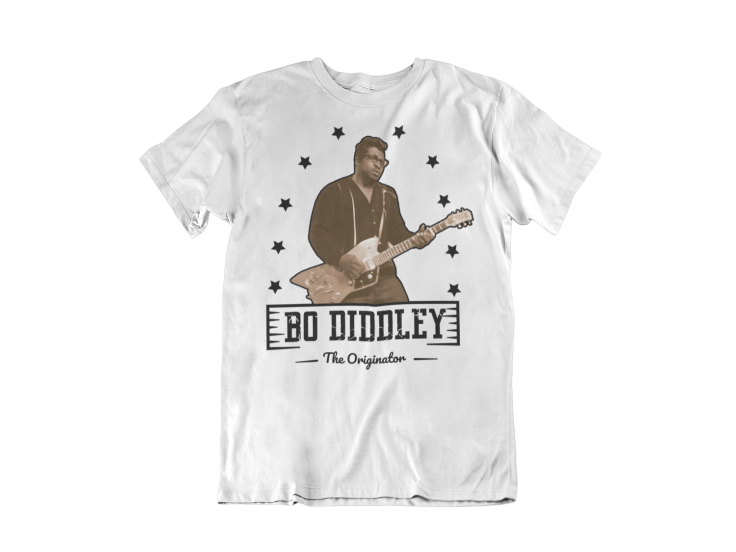 BO DIDDLEY T-SHIRT FOR MEN