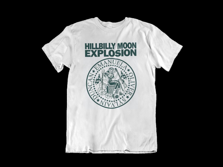 "HILLBILLY MOON EXPLOSION ""Ramones Explosion"" tshirt for MEN by Solrac"