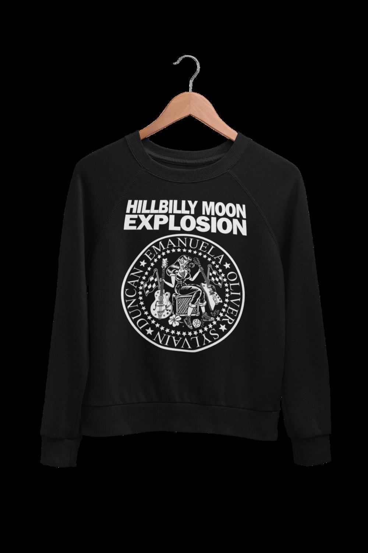 "HILLBILLY MOON EXPLOSION ""Ramones Explosion"" SWEATSHIRT"