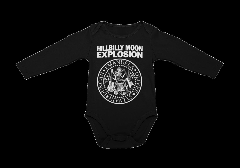 "HILLBILLY MOON EXPLOSION ""Ramones Explosion"" BABY ONIESE"