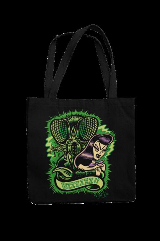 BZZZZ! Cotton Bag  logo design SOL RAC