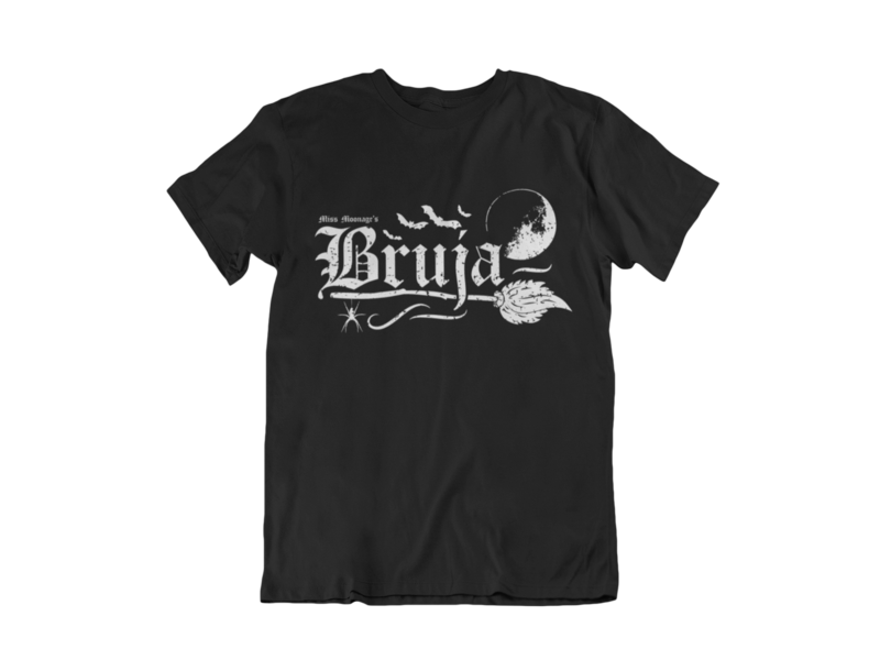 BRUJA by MISS MOONAGE tshirt for MEN