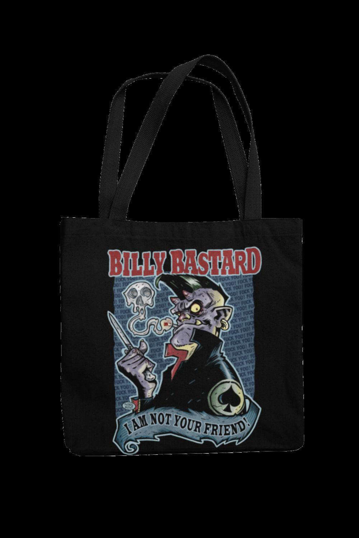 Cotton Bag Billy Bastard design by PASKAL