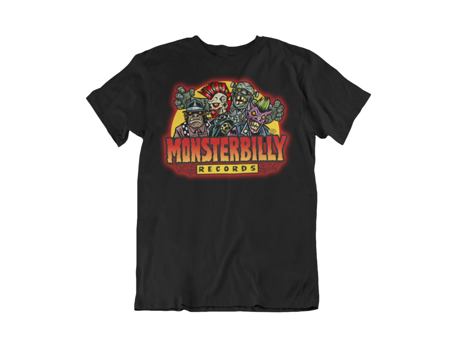 MONSTERBILLY RECORDS T-SHIRT MAN by PASKAL MILLET