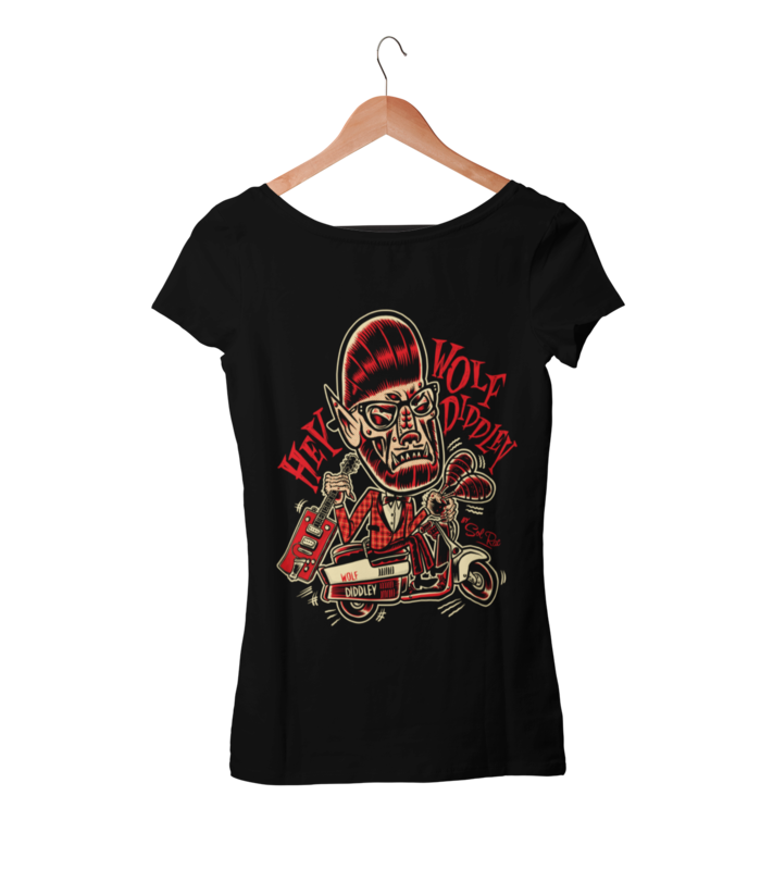 WOLF DIDDLEY T-SHIRT WOMAN BY SOL RAC