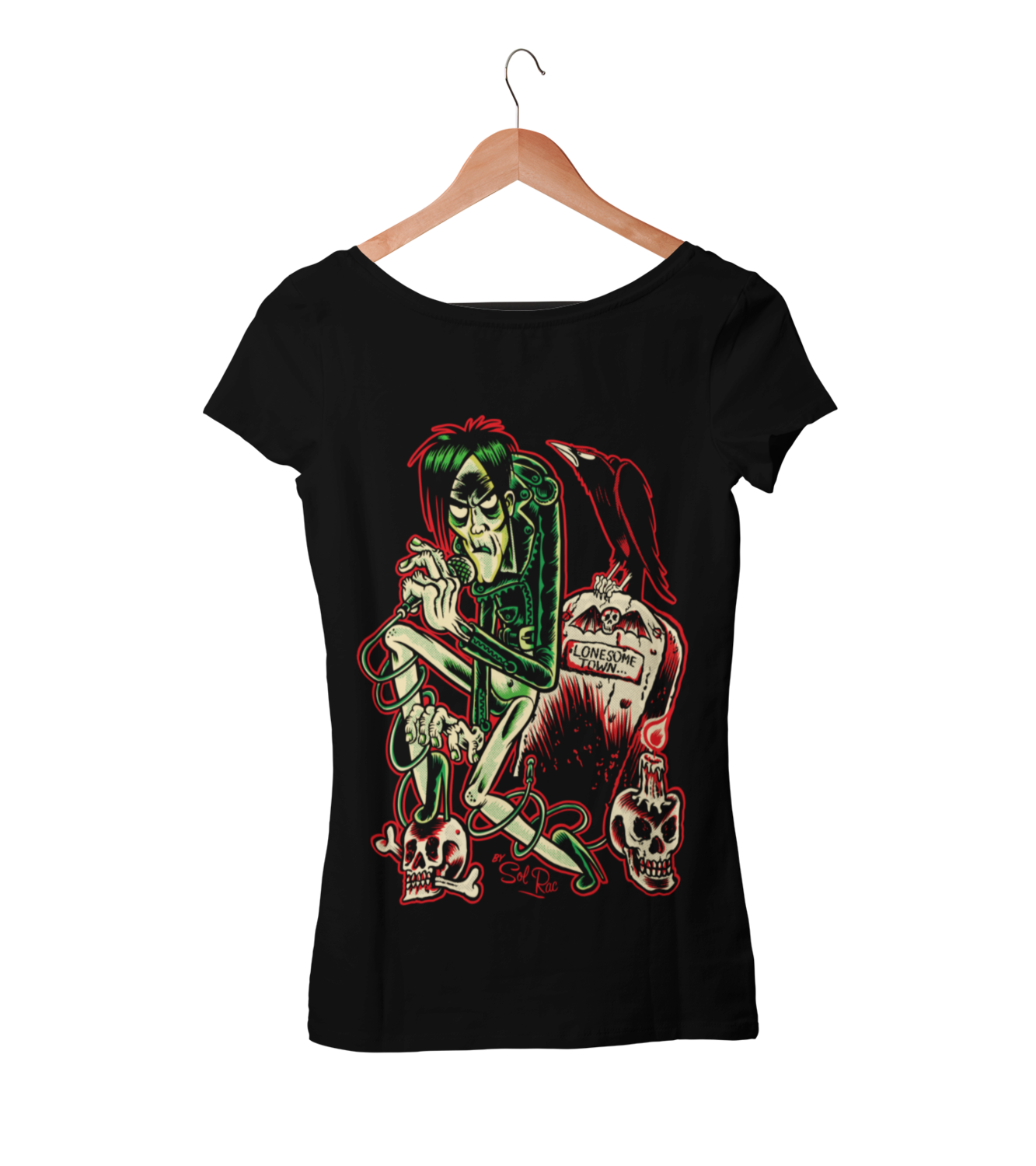 LUX INTERIOR T-SHIRT WOMAN BY SOL RAC