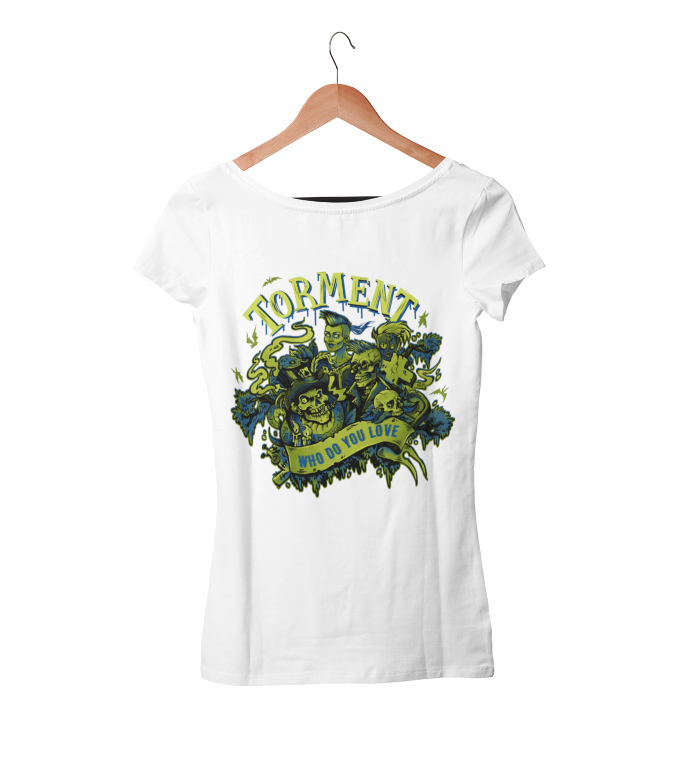 "TORMENT ""Who do you love"" tshirt for WOMEN"