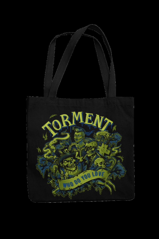 "TORMENT ""Who do you love"" Cotton Bag"