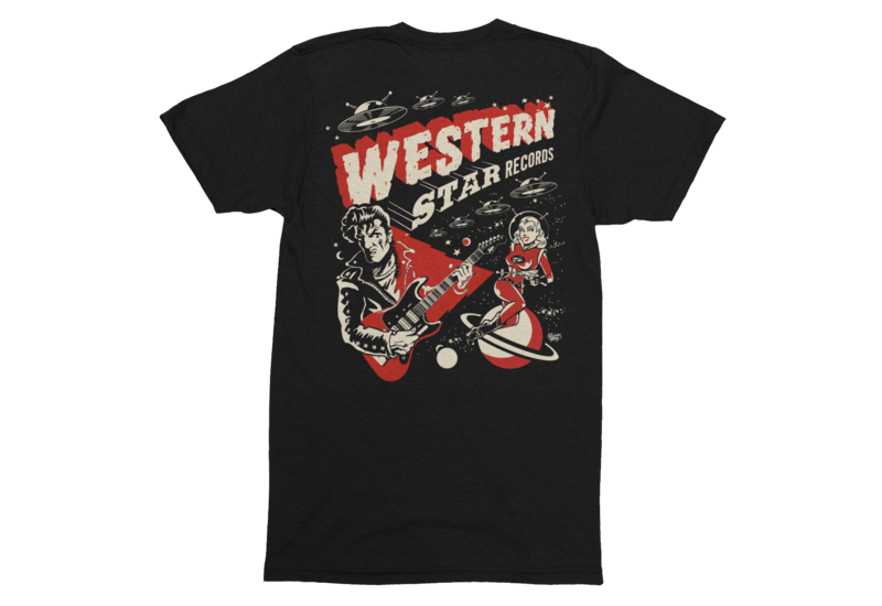 Western Star Recording Company by VINCE RAY tshirt for MEN