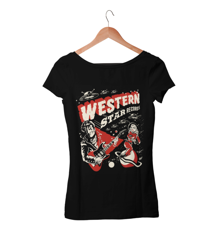 Western Star Recording Company BY VINCE RAY   T-SHIRT WOMAN
