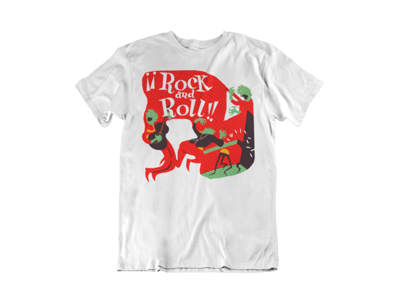 ROCK AND ROLL RCA COVER T-SHIRT MAN