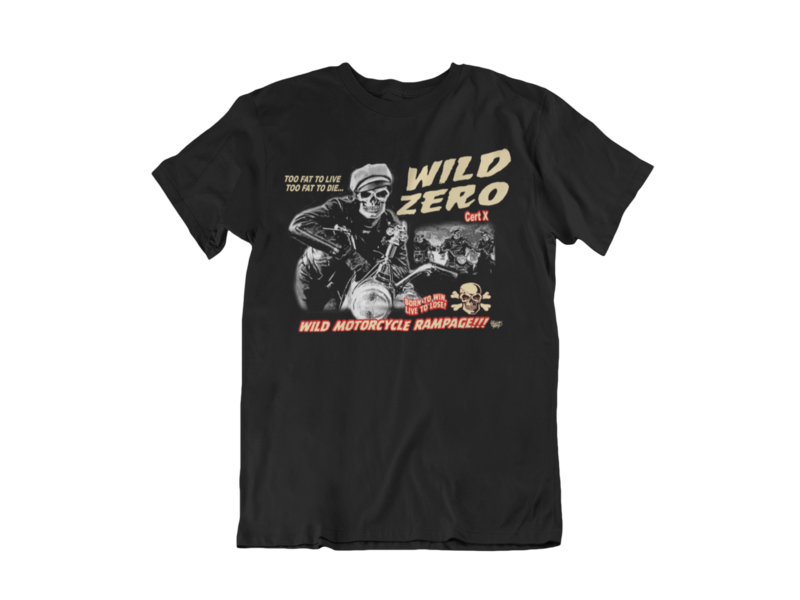 WILD ZERO T-SHIRT MAN by VINCE RAY