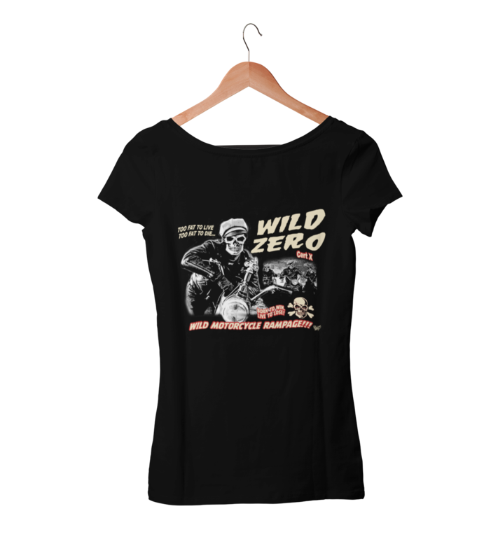 WILD ZERO T-SHIRT WOMAN by VINCE RAY