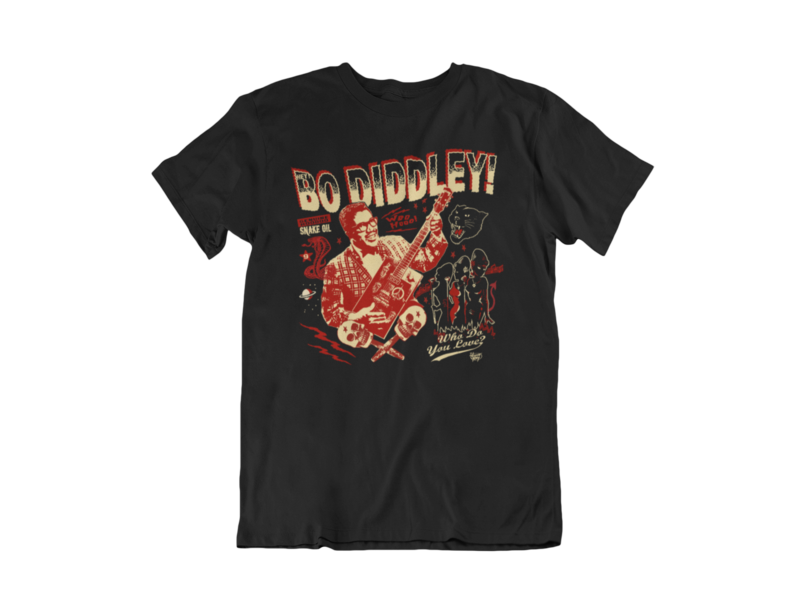 BO DIDDLEY T-SHIRT MAN by VINCE RAY