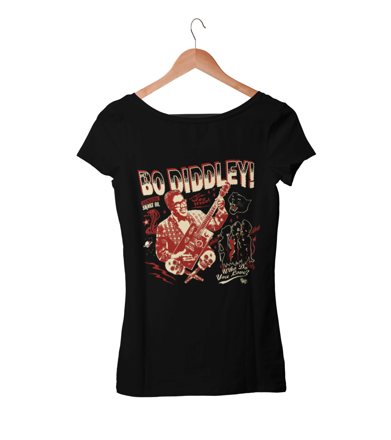 BO DIDDLEY T-SHIRT WOMAN by VINCE RAY