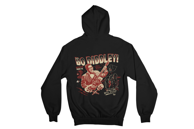 BO DIDDLEY HOODIE ZIP for WOMEN by VINCE RAY