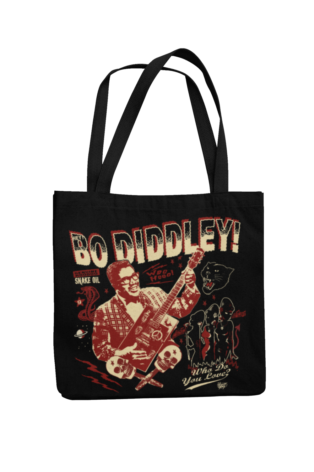 Cotton Bo Diddley design by VINCE RAY