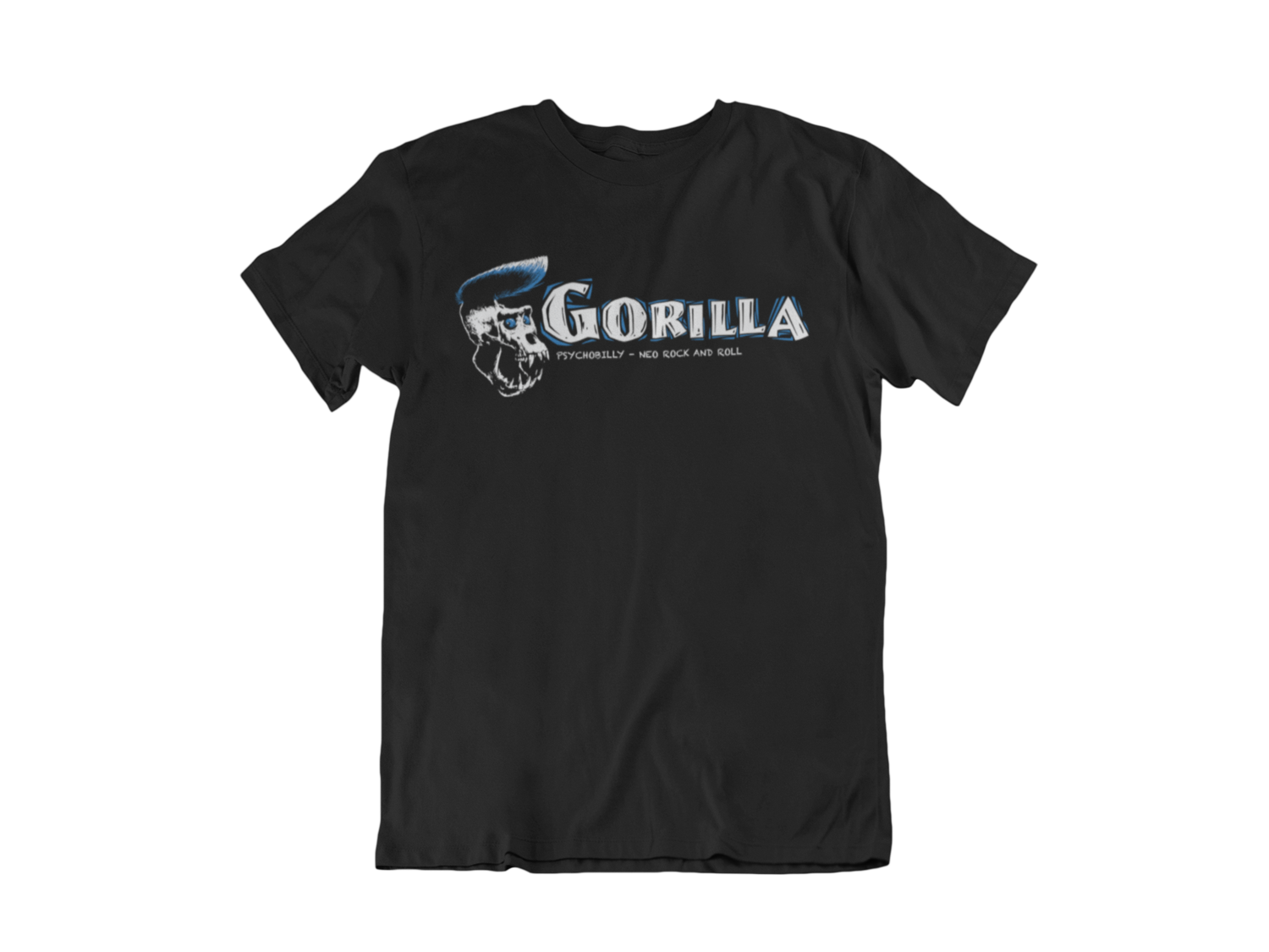 "GORILLA ""Blue Logo"" tshirt for MEN"