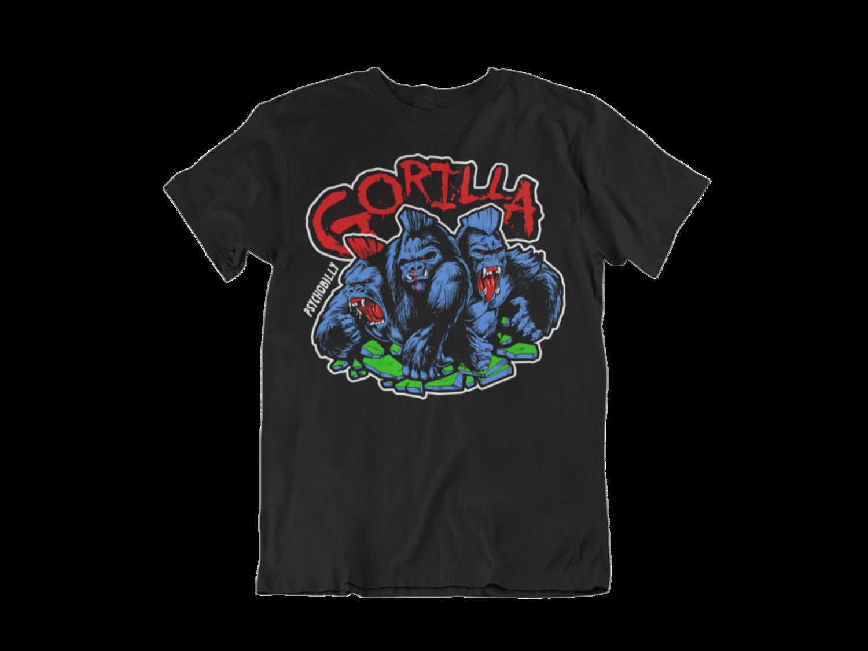 """GORILLA """"4 colours logo"""" tshirt for MEN"""