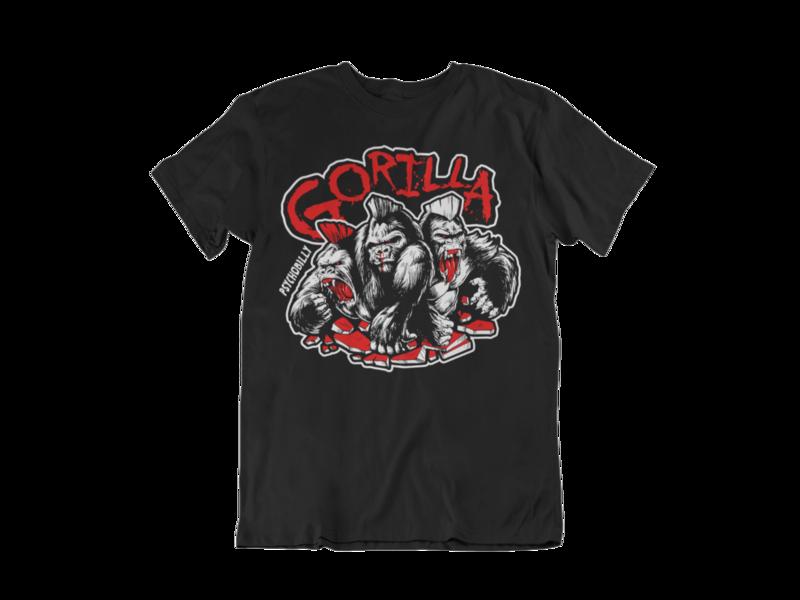 """GORILLA """"3 colours logo"""" tshirt for MEN"""