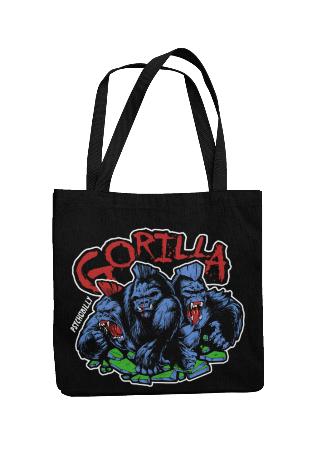 GORILLA 4 Colours logo Cotton Bag