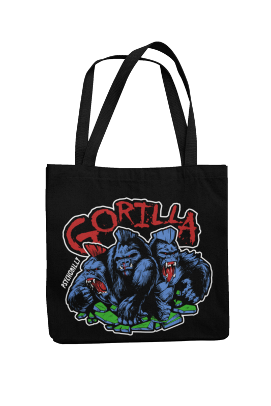 GORILLA 4 Colours logo Cotton Bag