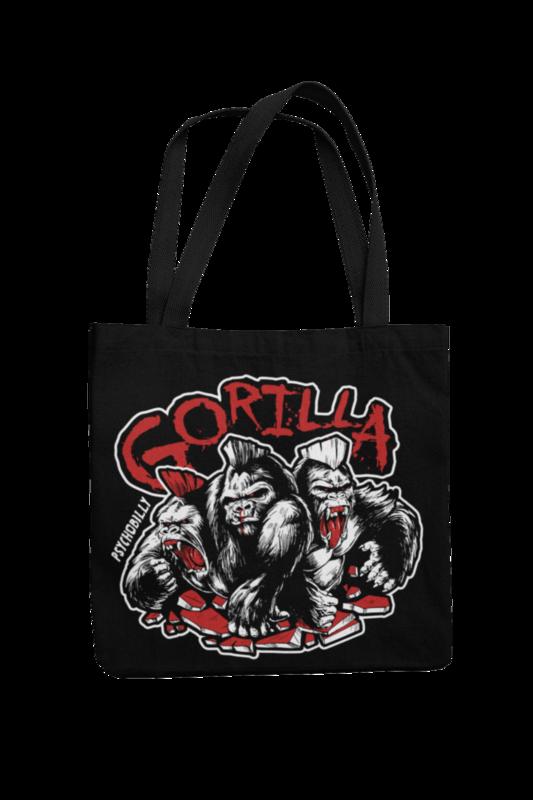 GORILLA 3 Colours logo Cotton Bag