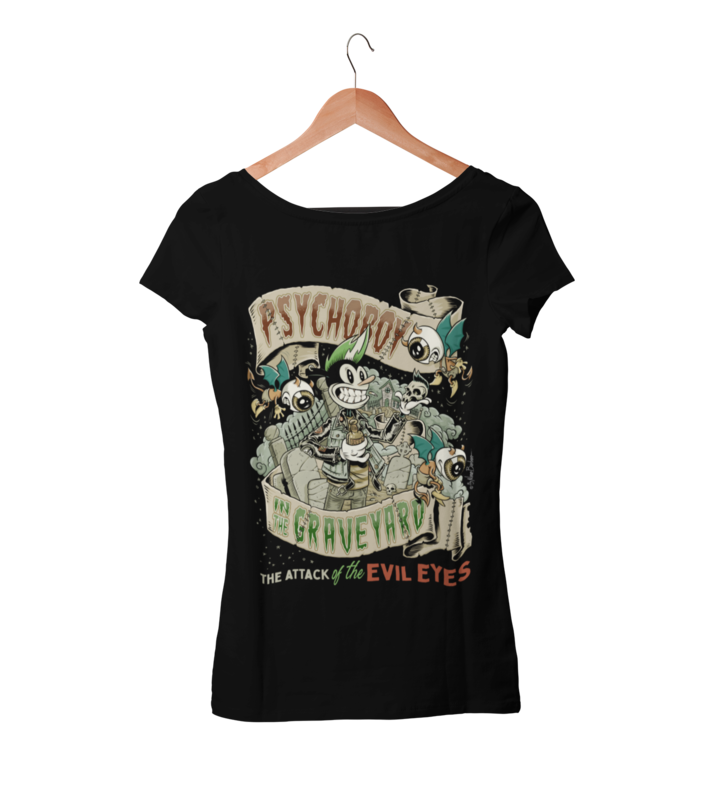 PSYCHO BOY T-SHIRT WOMAN by NANO BARBERO