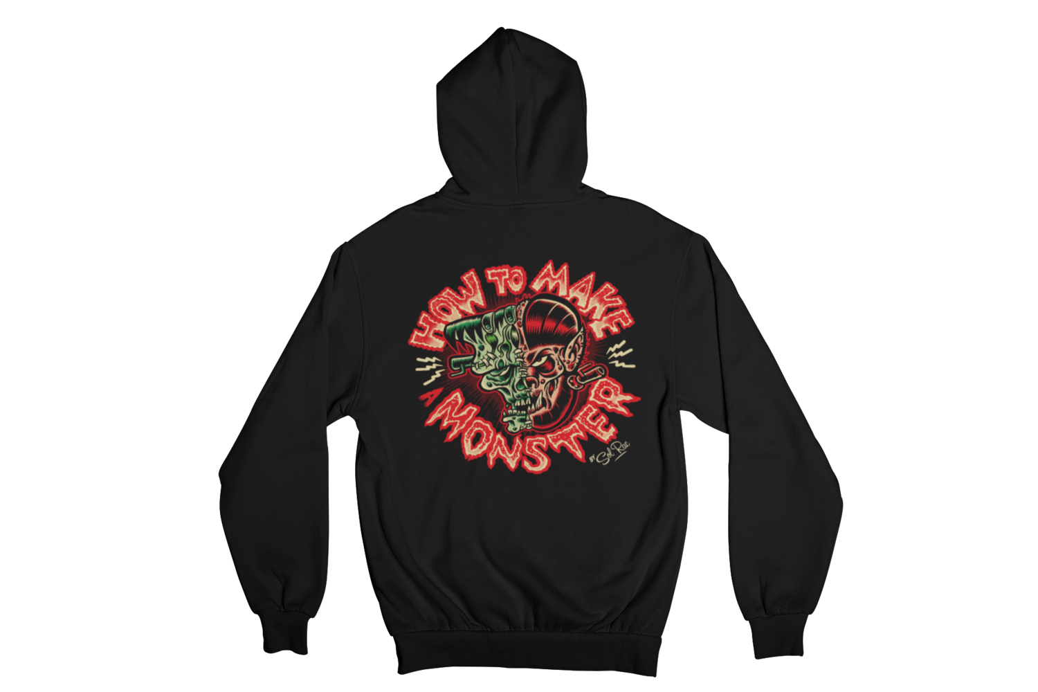 HOW TO MAKE A MONSTER HOODIE ZIP for MEN by SOL RAC