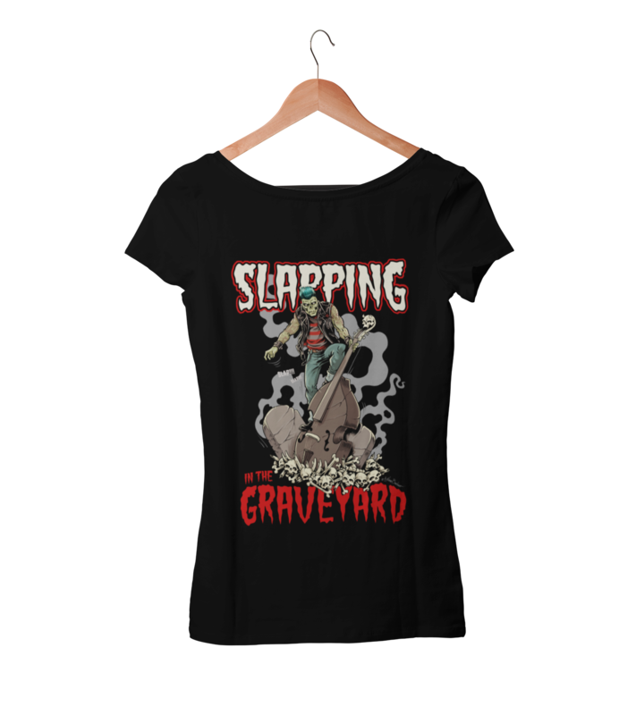 SLAPPING IN THE GRAVEYARD T-SHIRT WOMAN by NANO BARBERO