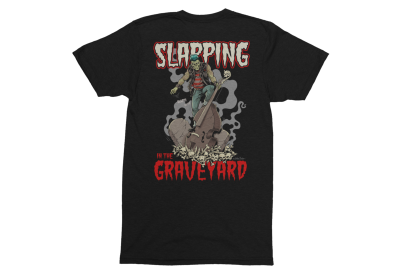 SLAPPING IN THE GRAVEYARD T-SHIRT MAN BY NANO BARBERO