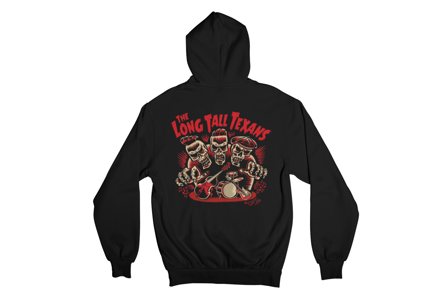 "LONG TALL TEXANS ""3 SKULLS"" HOODIE ZIP for MEN"