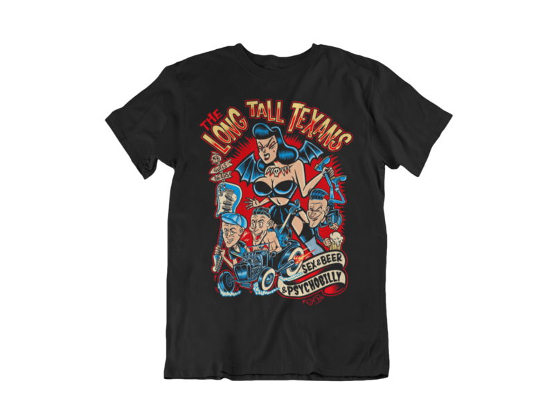 LONG TALL TEXANS T-SHIRT