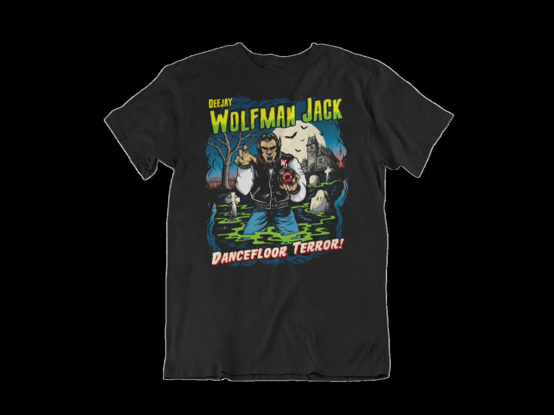 Wolfman Jack Dj tshirt for MEN