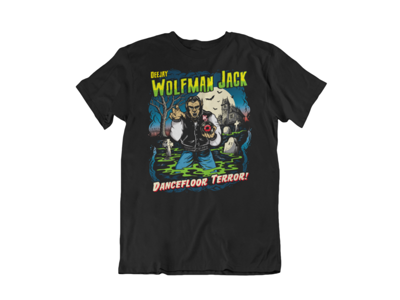 Wolfman Jack Dj tshirt for MEN